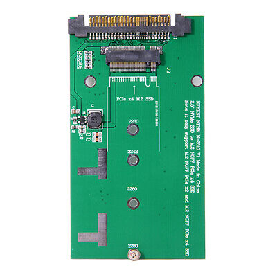 SFF-8639 U.2 to NGFF M.2 M-key PCIe SSD Adapter PCB Card for Intel SSD 750