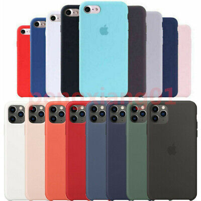 Hard Case For Apple iPhone 11 Pro Max XS Max XR 8 6 Silicone Phone Cover
