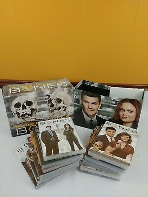BONES: The Flesh & Bones Collection The Complete Series DVD All Seasons 1-12