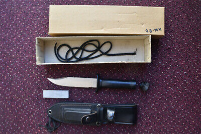 RESQVIVAL  Hollow Handle Survival Knife NOS Seki City