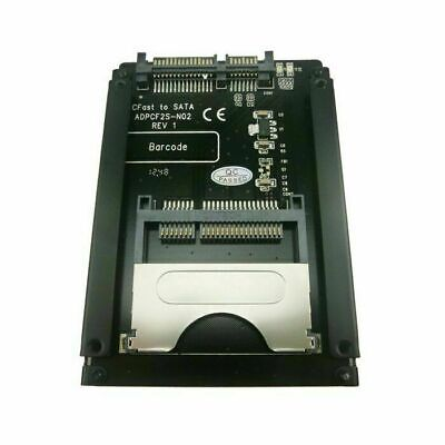 """Cablecc SATA 22Pin to CFast Adapter 2.5"""" Hard Disk Case SSD HDD Card Reader"""