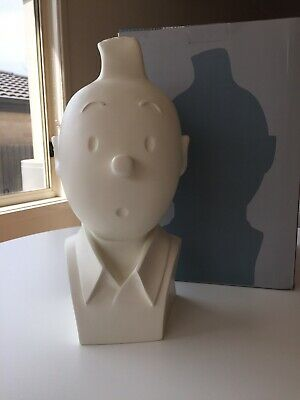 TINTIN - Tintin White Bust - Moulinsart 2010 - Limited Edition No. 599/750