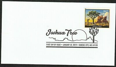 US 5347 Priority Mail Joshua Tree BWP FDC 2019