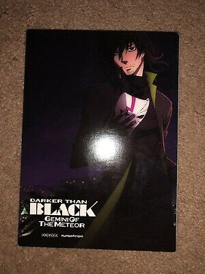 Darker Than Black Season 2 Limited Edition Blu Ray W/slipcover