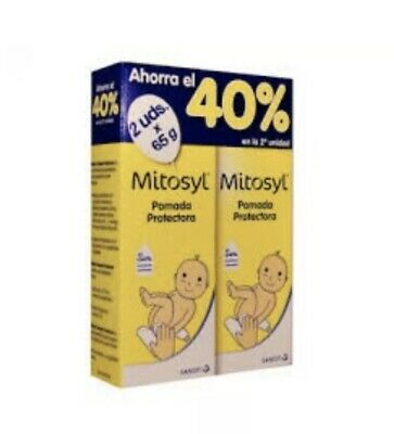 Pack 2 Units Mitosyl Pomade Protective Ointment 65g. Total 130g.