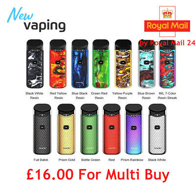 Smok Nord Kit All In One Pod Kit New Colors Available for Sale**AUTHENTIC**