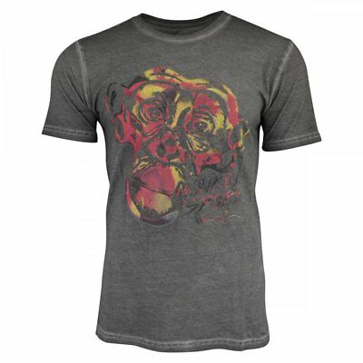 Men's T shirt Gray / Oilwash - new with tags - size small