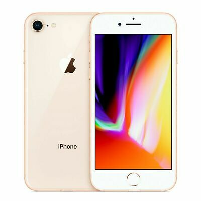 Apple iPhone 8 - 64GB/256GB - Factory Unlocked - EE Vodafone O2 Virgin Mobile