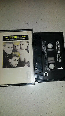 depeche mode the singles music cassette 81-85 RARE