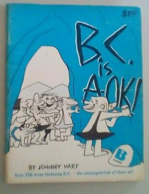 Johnny Hart  B.C IS A OK CAPRICORN COMIC BOOKS 1976