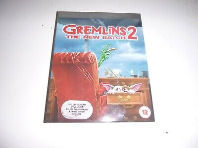 Slipcover For Gremlins 2 The New Batch Blu Ray (New) No Disc