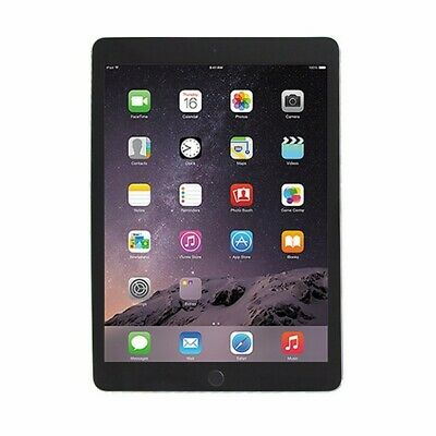DEFECTIVE Apple iPad Air 2 (Wi-Fi Only) A1566 - 64GB/Space Gray (MGKL2LL/A)