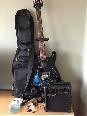 Jaxville 'Hades' Full Size Electric Guitar Package