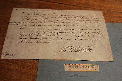 1663 King Louis XIV Philippeville belgium lieutenant manuscript signed document