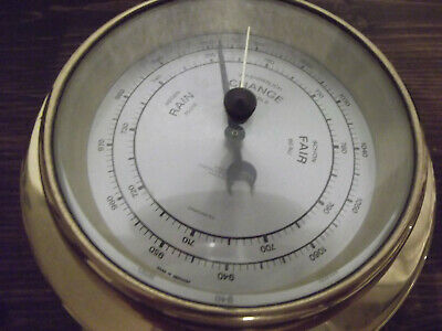 Dekoratives Schiffs-Barometer Von Wempe Made In Germany #7906