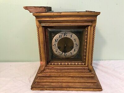 Junghans 8 day Westminster Chime Bracket Mantle Clock 1907