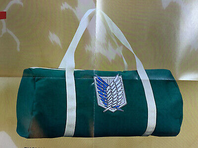 Attack on Titan Logo Duffel Bag Loot Anime Crate Exclusive Duffle Survey Corps