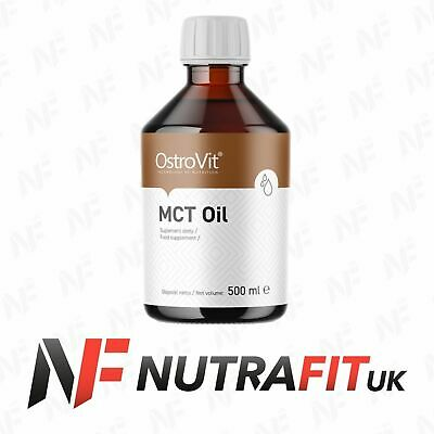 OSTROVIT MCT OIL 100% pure fatty acids diet weight fat loss energy 500ml