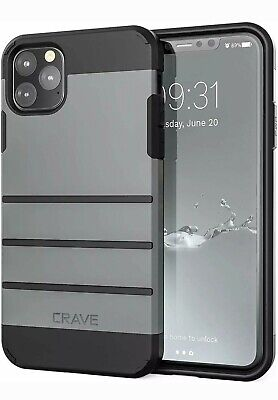 iPhone 11 Pro Max Case, Crave Strong Guard Heavy-Duty Protection Series Case for