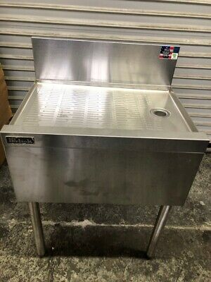 """NEW 24"""" Drain Board Under Back Bar Stainless Steel NSF Perlick TS24 #2871"""