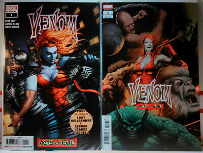 VENOM ANNUAL #1 (2019) JOHN TYLER CHRISTOPHER VARIANT SET marvel comics NM VF+