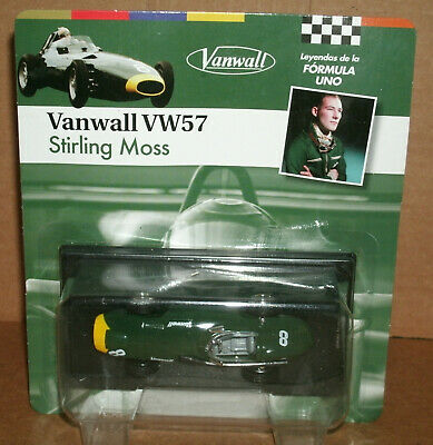 1/43 Scale 1957 Vanwall VW57 Formula One Diecast Race Car Model F1 - SpecialC 79