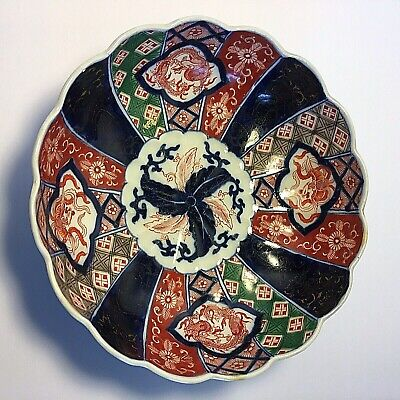Antique Japanese Imari Porcelain Bowl 19th century