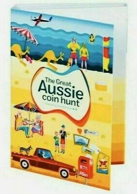 The Great Aussie Coin Hunt  A-Z Folder + 26 $1 COINS  FULL SET