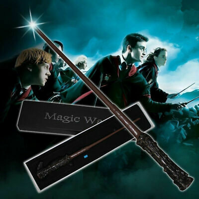 Harry Potter Magic Wand LED Light-up Dumbledore Lord Voldemort Halloween Cosplay