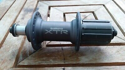 REAR SHIMANO XTR HUB FOR V-BRAKE~FH-M970 32h WITHOUT PACKAGE NEW IFHM970BZA