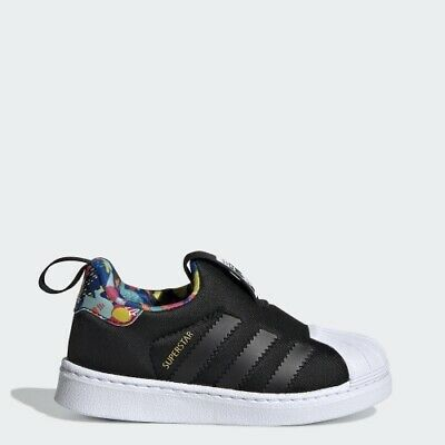 Adidas EE6276 infant toddler Superstar 360 I baby shoes black kids