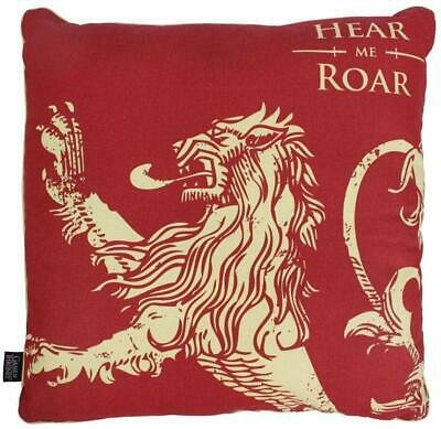 Game of Thrones - Deko Kissen - Haus Lannister - Wappen Logo - 46 x 46 x 8 cm