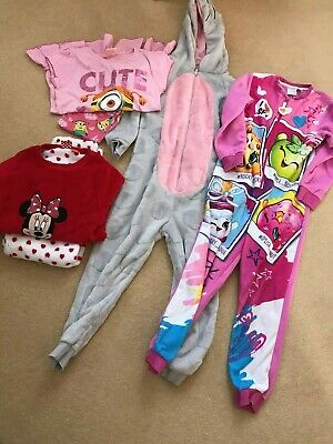 6 to 7 year old girls pj's