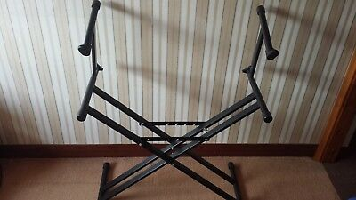 Two Tier Keyboard Piano Music Studio Stand