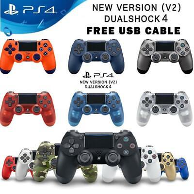 PS4 Controller DualShock 4 Wireless Bluetooth V2 for Sony PlayStation 4