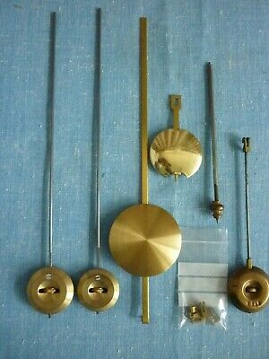 Antique Clock 3 French Pendulums And 2 Others.