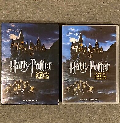 Harry Potter: Complete 8-Film Collection (DVD, 2011, 8-Disc Set) w/ Slipcover