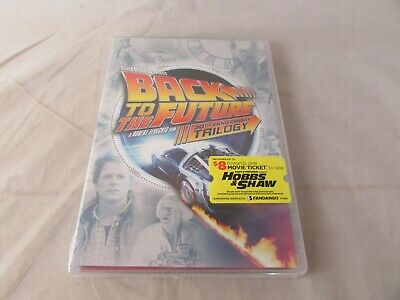 Back To The Future Trilogy 30th Anniversary Ed. (DVD, 2015) NEW
