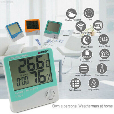 606B LCD Screen Hygrometer Weatherglass Instrument Device Convenient Thermometer