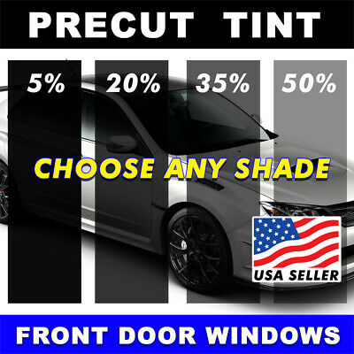 PRECUT FRONT DOORS TINT W// 3M COLOR STABLE FOR FORD F-150 SUPER CREW 04-08