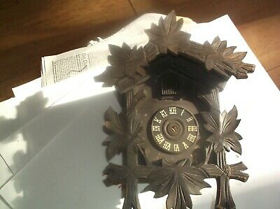 A Case From An Old Cuckoo Clock For Restoration