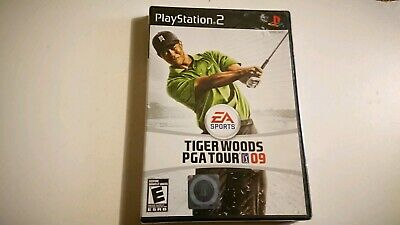 Tiger Woods PGA Tour 09 (Sony PlayStation 2, 2008) BRAND NEW SEALED PS2