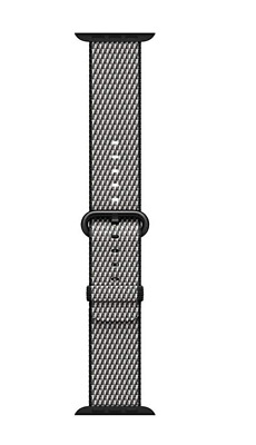 Apple Watch MQV92AM/A Watch 38mm Black Woven Nylon