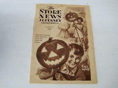Vintage 1929 JC Penney The Store New Halloween Fall Catalog-FAST SHIPPING!!
