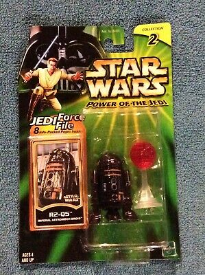 Star Wars Power of the Jedi - R2-Q5 Imperial Astromech Droid Figure Sealed MOC