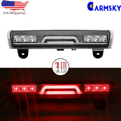 Clear 3D LED 3rd Housing 00-06 Chevy Tahoe/Suburban/Yukon Rear Tail Brake Light