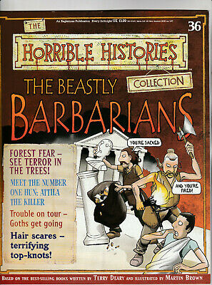 THE HORRIBLE HISTORIES COLLECTION Magazine Issue 36 - The Beastly Barbarians