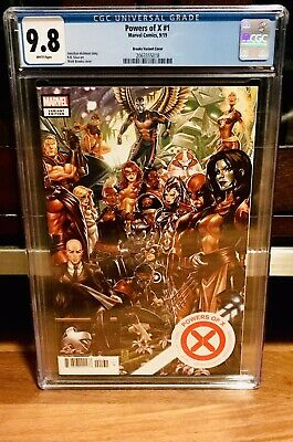 CGC 9.8 Powers of X #1 Mark Brooks variant connecting Marvel Comic 2019  HOX POX