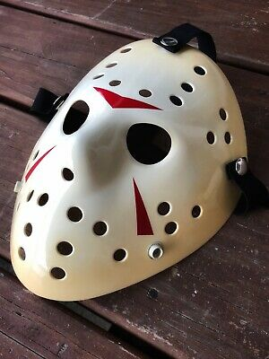 Friday The 13th Jason Voorheese Movie Prop Replica Clean Part 3 Hockey Mask.