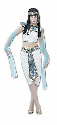 Womens Ancient Egyptian Queen Fancy Dress Cleopatra Book Week Day Costume Outfit